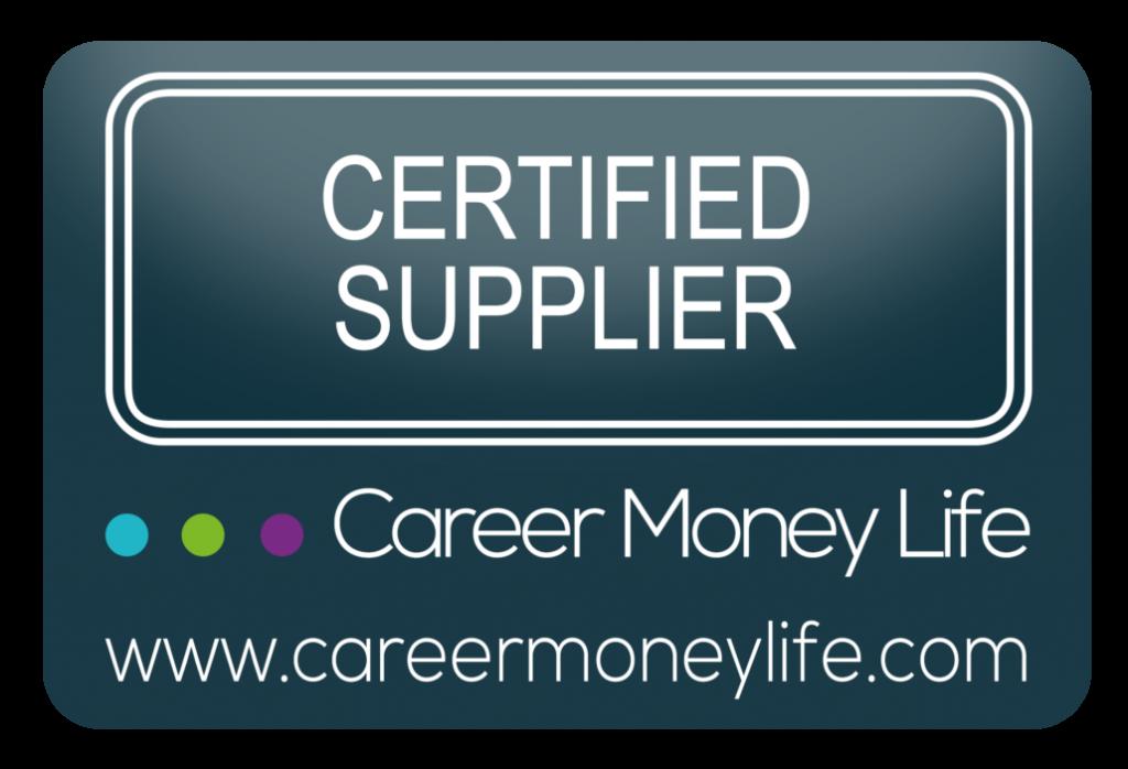 Career Money Life Certified Supplier Badge
